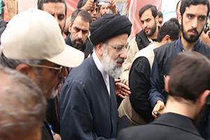 فیلم/ حضور حجت الاسلام رئیسی در حرمین عسکریین(ع)