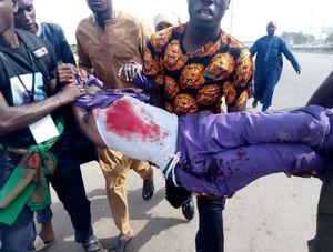 عکس/ حمله نظامیان نیجریه به عزاداران حسینی در ابوجا