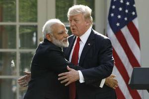 ترامپ دعوت سفر به هند را رد کرد