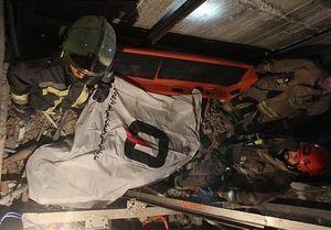 مرگ کارگر جوان پس از سقوط ۹ طبقهای +عکس