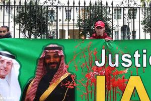 فیلم/ اعتراض به سیاستهای بنسلمان در لندن