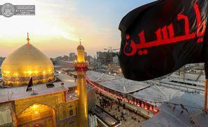 نمایی زیبا از حرم حضرت علی(ع)