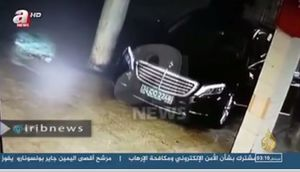فیلم/ خودرو سعودیها پس از قتل خاشقجی به کجا رفت!