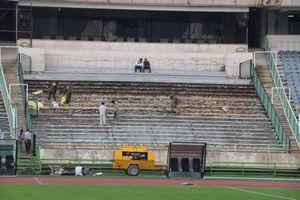 عکس/ روند آماده سازی ورزشگاه آزادی برای فینال