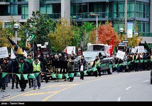 عکس/ راهپیمایی اربعین حسینی در کانادا