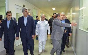 دیدار معاون رییس جمهور از یک مبارز ضد سرطان کشور