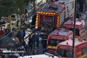 عکس/ انفجار انتحاری در پایتخت تونس
