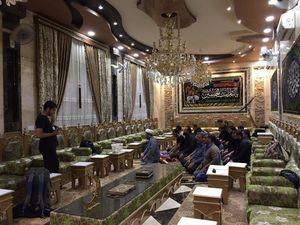 عکس/ اسکان زائران ایرانی در خانه وزیر عراقی