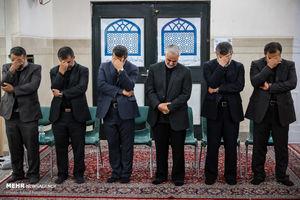 عکس/ مراسم ختم پدر سردار حاجی زاده