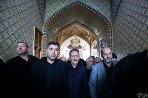 عکس/ حضور جهانگیری در حرم حضرت علی (ع)