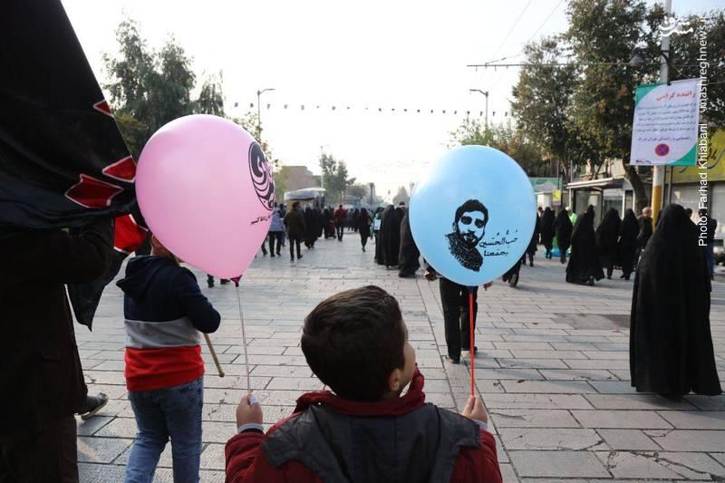 2374810 - ندای لبیک یا حسین در تهران طنین انداز شد