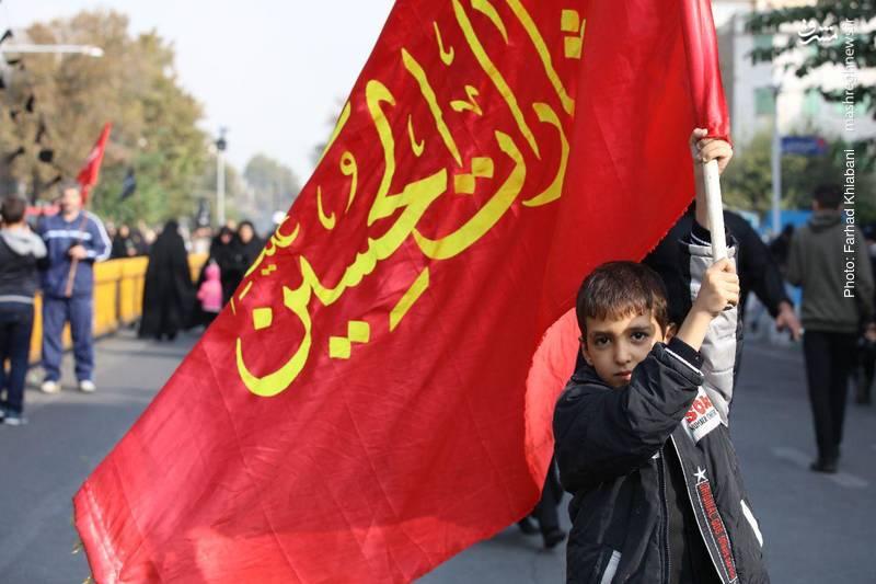 2374828 - ندای لبیک یا حسین در تهران طنین انداز شد