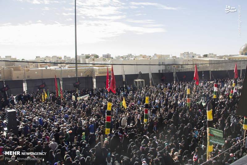 راهپیمایی جاماندگان اربعین حسینی در سمنان