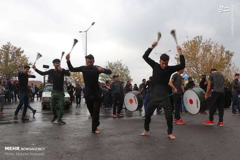 راهپیمایی جاماندگان اربعین حسینی در بیرجند