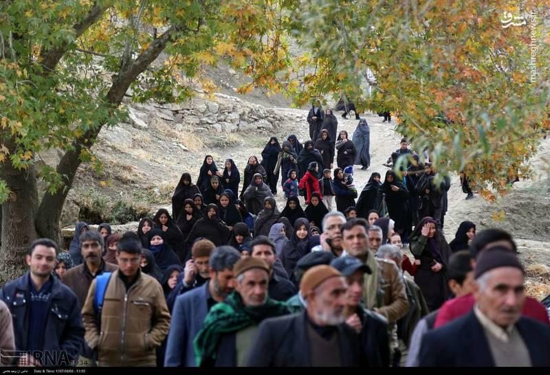 زائران پیاده «چناران شهر» خراسان شمالی