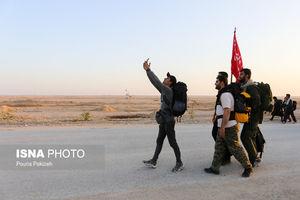 بازگشت زائران اربعین حسینی از پایانه مرزی مهران