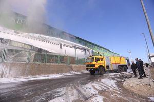 جزئیات آتش گرفتن هواپیما در فرودگاه امام