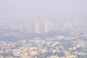 آلودگی هوا در پایتخت هند