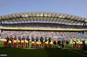 حضور ستارگان بزرگ دنیا در استادیوم میزبان دیدار کاشیما و پرسپولیس +عکس