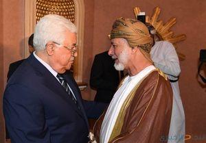ابلاغ  پیام سلطان عمان به ابومازن
