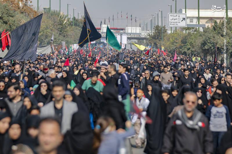 عکسهای اربعین تهران