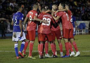 پیروزی آسان رئال مادرید در نخستین تجربه مربیگری سولاری