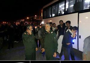 حضور ۲۰۰ اتوبوس سپاه جابهجایی زائران اربعین