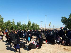 بازگشت زائران از مرز مهران