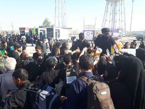 آخرین وضعیت تردد در مرزهای «شلمچه، چذابه و مهران»