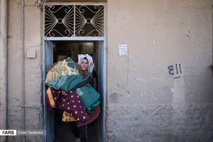 عکس/ جمع آوری موکب های پذیرایی از زائران اربعین در کربلا