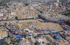 عکس/ پروژه صحن حضرت زینب(س) در کربلا