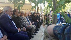 مراسم دومین سالگرد درگذشت منصور پورحیدری برگزار شد +عکس