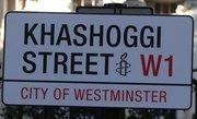 تغییر نام یک خیابان در لندن به خاشقچی +عکس