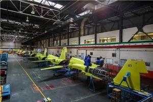 عکس/ افتتاح خط تولید جت جنگنده کوثر