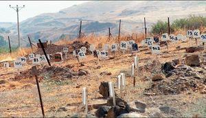 قبرستان شمارهای چیست؟ / آل خلیفه از پیکر شهدای انقلاب بحرین هم هراس دارد! +عکس