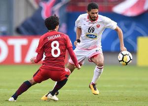 دیدار رفت فینال لیگ قهرمانان آسیا پسپولیس کاشیما
