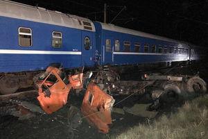 عکس/ برخورد خونین کامیون و قطار در روسیه
