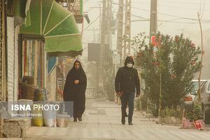عکس/ طوفان و آلودگی شدید هوا در زابل