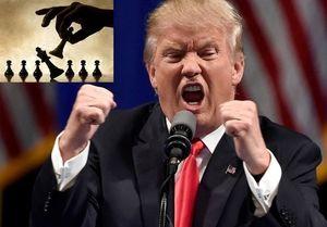 """فیلم/ """"ترامپ"""" بازهم با یک خبرنگار درگیر شد!"""