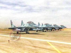 یک فروند جنگنده میگ -29 ارتش مصر سقوط کرد