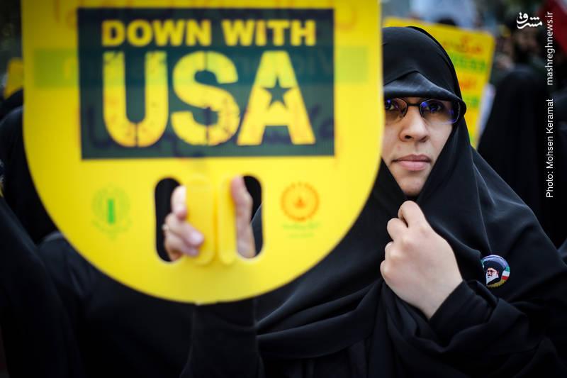 2377824 - تظاهرات استکبار ستیزی ۱۳ آبان