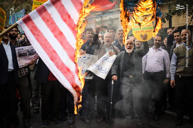2377829 - تظاهرات استکبار ستیزی ۱۳ آبان