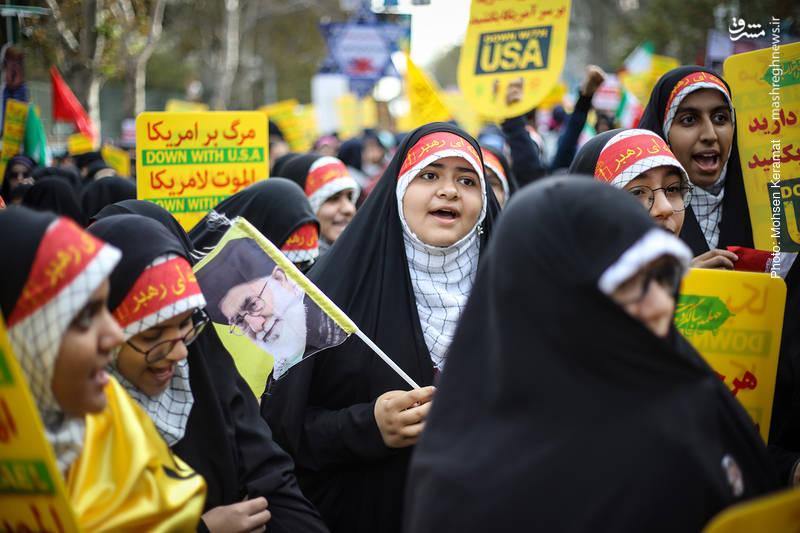2377830 - تظاهرات استکبار ستیزی ۱۳ آبان