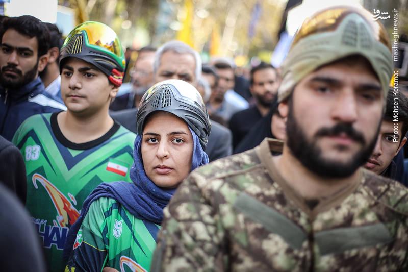 2377836 - تظاهرات استکبار ستیزی ۱۳ آبان