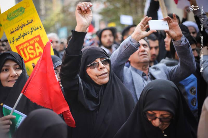 2377842 - تظاهرات استکبار ستیزی ۱۳ آبان