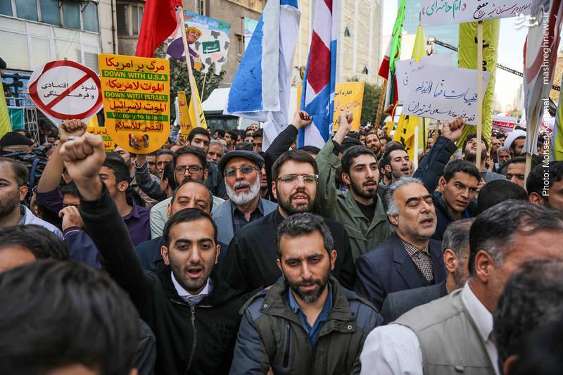 2377843 - تظاهرات استکبار ستیزی ۱۳ آبان
