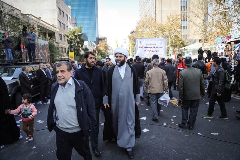 2377845 - تظاهرات استکبار ستیزی ۱۳ آبان