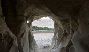 عکس/ بزرگترین دهانه غار ایران!