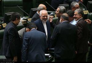 عکس/ حضور ظریف در جلسه علنی مجلس