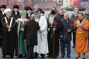 فیلم/ روز ملی وحدت در روسیه با حضور پوتین